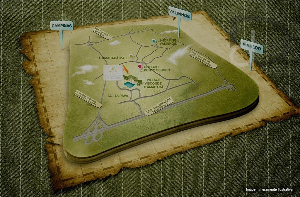terreno no condomínio reserva do itamaracácom portaria 24 horas, muros de três metros de altura e...