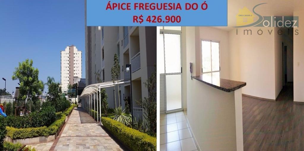 Ápice Freguesia - Apartamento  residencial à venda, Freguesia do Ó, São Paulo.
