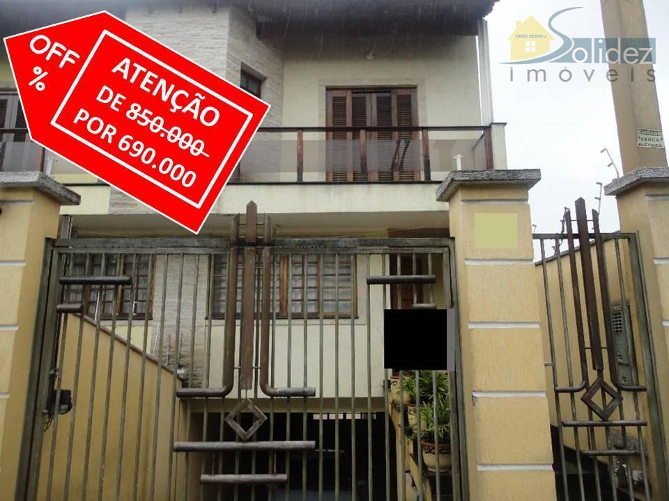 Sobrado residencial para venda e locação, Freguesia do Ó, São Paulo - SO0029.