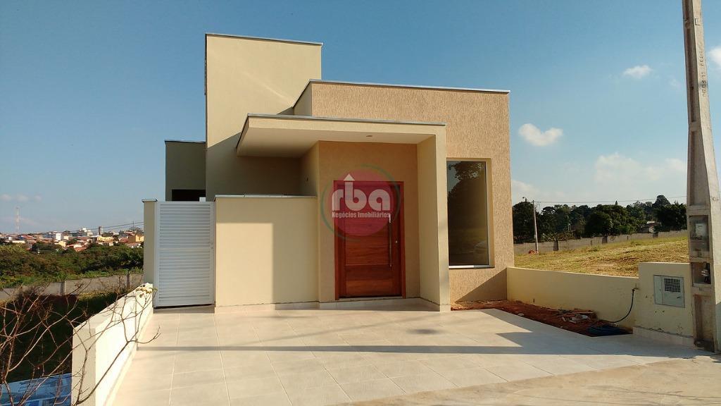 Casa 3 Dorm, Condomínio Santinon, Sorocaba (CA0350)