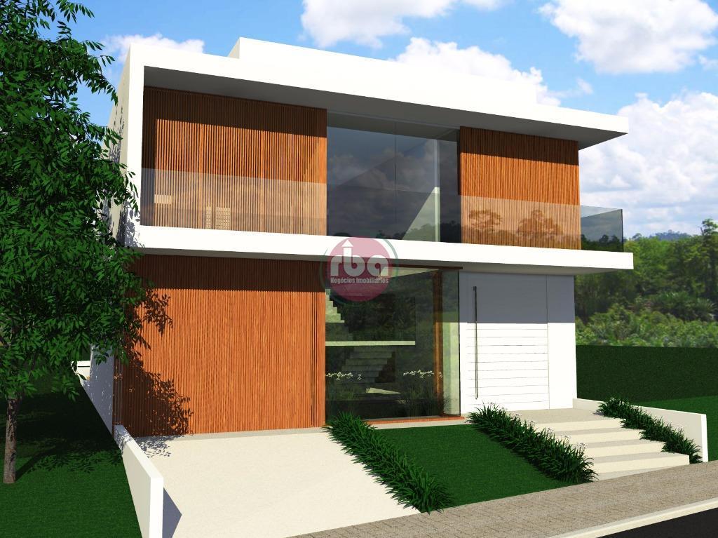 Casa 4 Dorm, Condomínio Sunset Village, Sorocaba (CA0458)