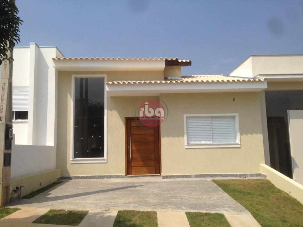 Casa 3 Dorm, Condominio Golden Park Residence Ii, Sorocaba (CA0496)
