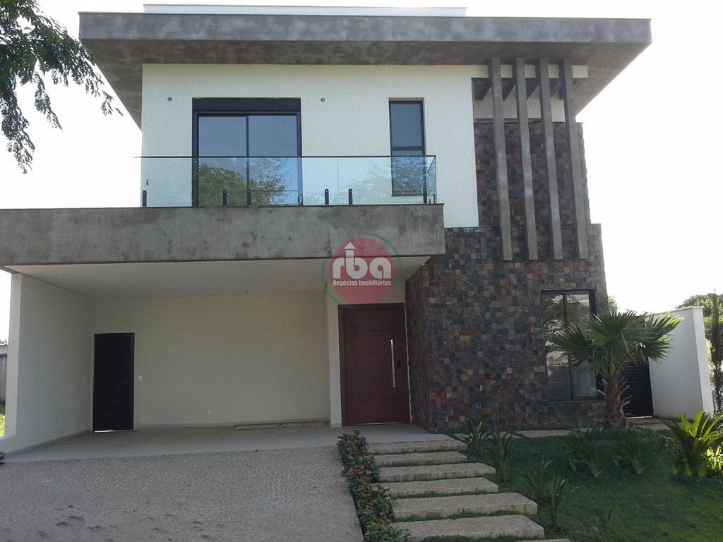 Casa 3 Dorm, Condomínio Mont Blanc, Sorocaba (CA0181)