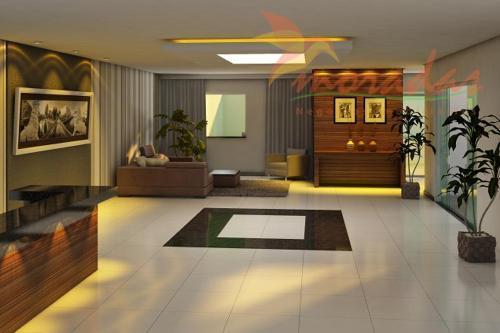 apartamentos(tipo 1)área privativa 96,07 m², com sala ampla em dois ambientes com sacada, cozinha, três quartos...
