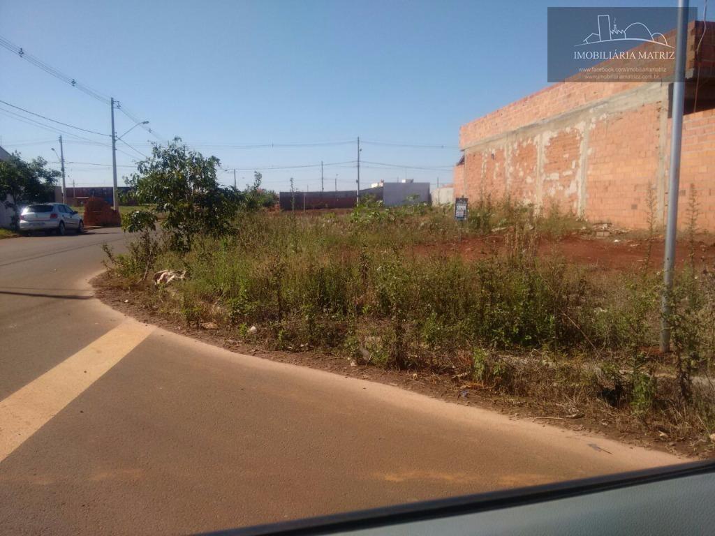 Terreno residencial à venda, Recanto das Paineiras, Iracemápolis.