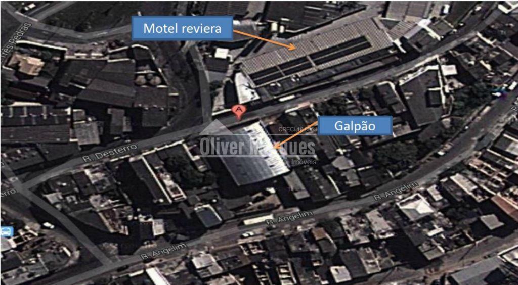 Galpão comercial para locação, Jardim Santa Cecília, Barueri - GA0078.