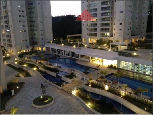 Apartamento residencial para locação, Tamboré, Santana de Parnaíba.