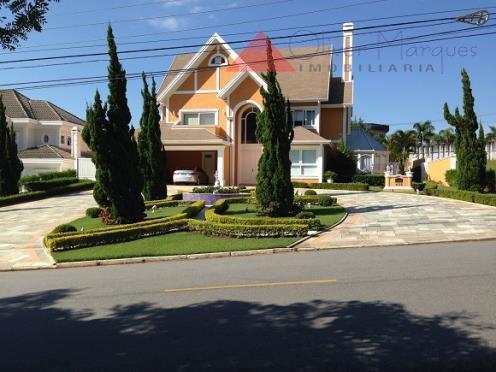 Sobrado residencial à venda, Residencial Tamboré, Barueri - SO1191.