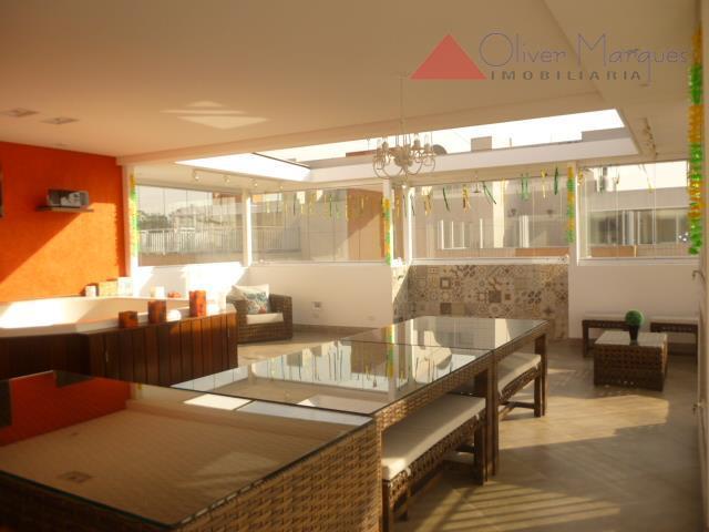 Cobertura residencial à venda, Vila São Francisco, São Paulo - CO0091.