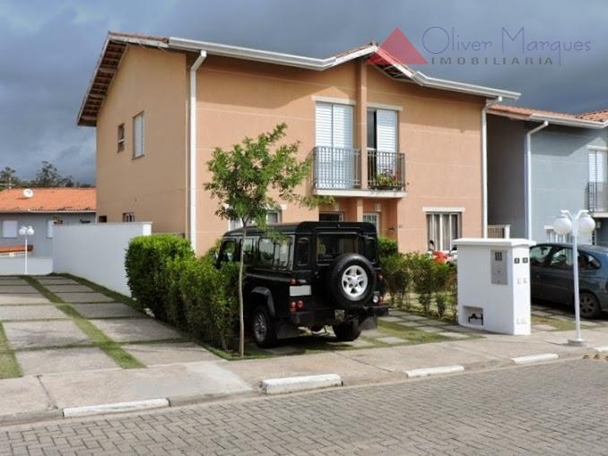 Sobrado  residencial à venda, Cond. Fechado Granja Viana, Cotia.3 dorm. 1 suite 2 vagas