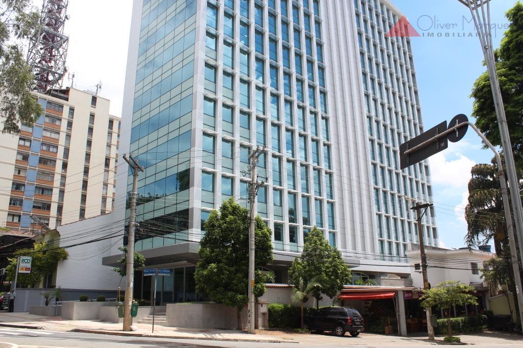 Sala  comercial para locação, Higienópolis, São Paulo.