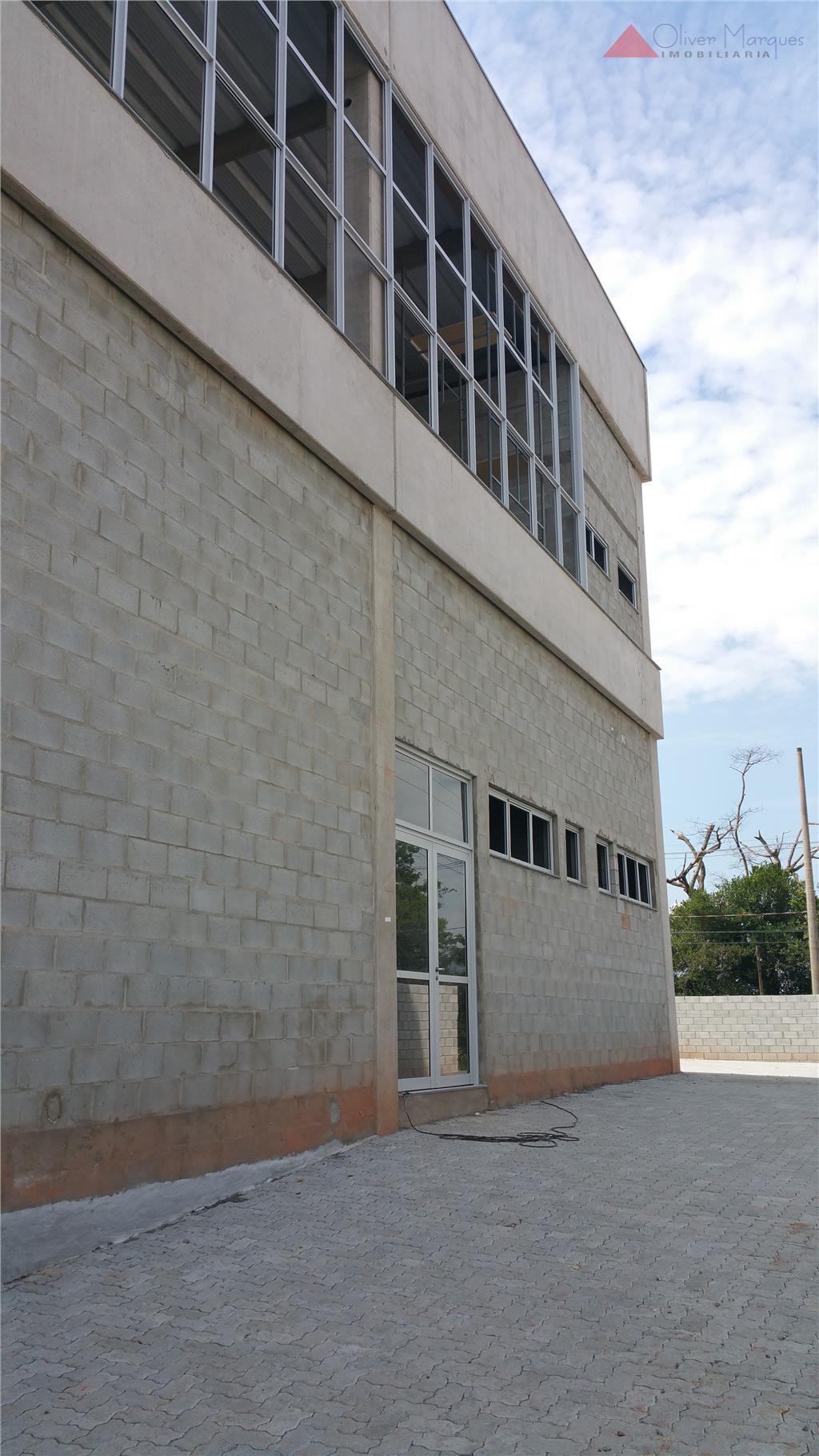 Galpão industrial para locação, Distrito Industrial, Araçariguama.