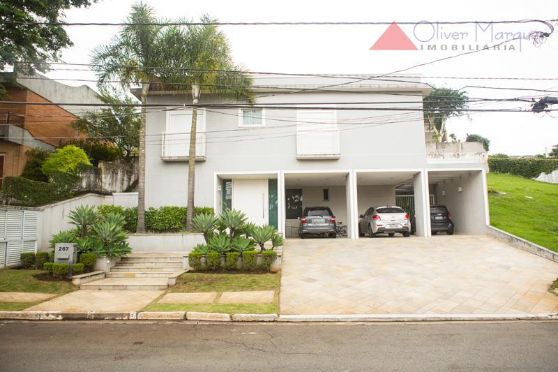 Sobrado residencial à venda, Alphaville Residencial Um, Barueri - SO1243.