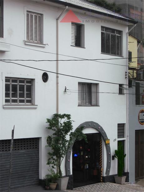 Sobrado  comercial à venda, Pinheiros, São Paulo.