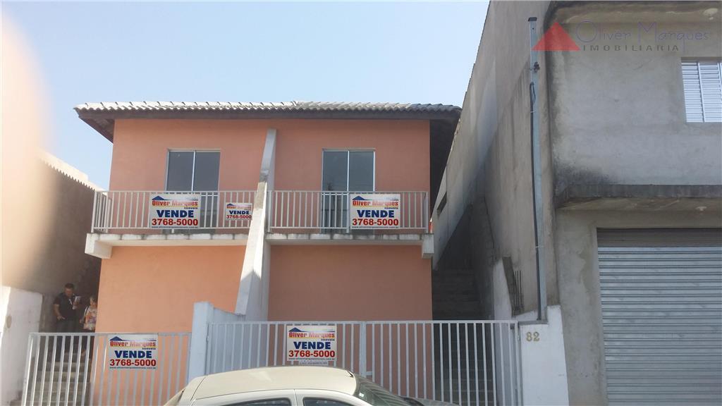 Sobrado residencial à venda, Jardim Nova Vida, Cotia - SO1325.