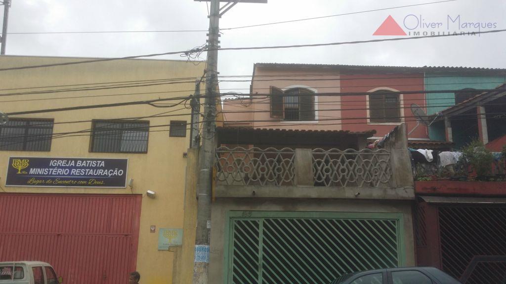 Sobrado residencial à venda, Jardim São Jorge (Raposo Tavares), São Paulo.