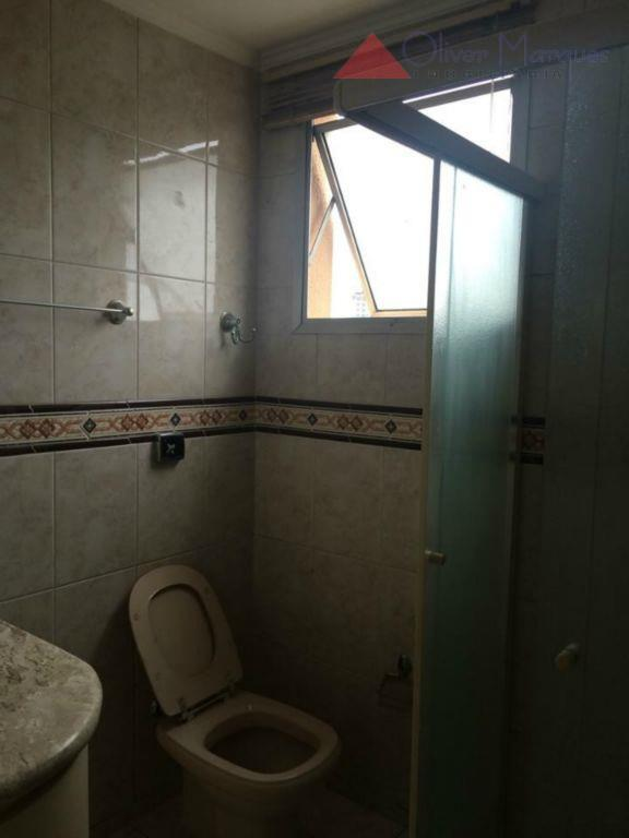 Apartamento residencial para locação, Vila Osasco, Osasco - AP4214.