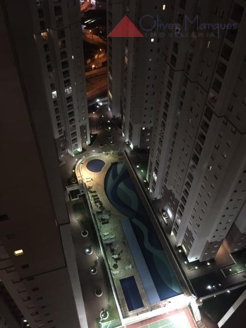 Apartamento residencial para locação, Jardim Tupanci, Barueri - AP4230.