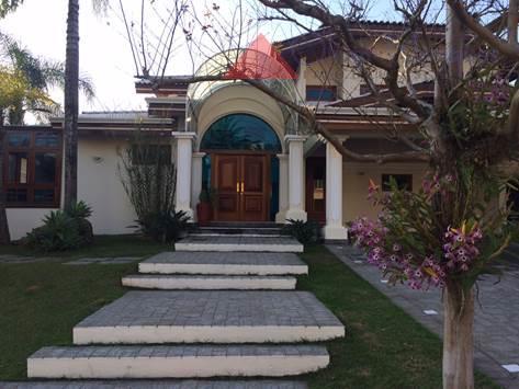 Casa residencial à venda, Tamboré, Santana de Parnaíba - CA0836.