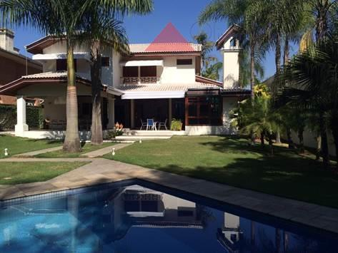 Casa residencial para locação, Tamboré, Santana de Parnaíba - CA0837.