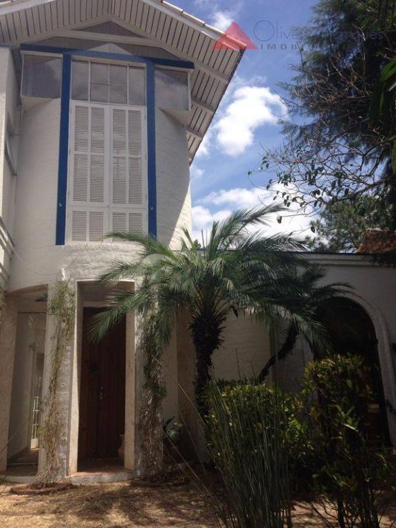 Casa residencial para locação, Alphaville Residencial Dois, Barueri - CA0838.