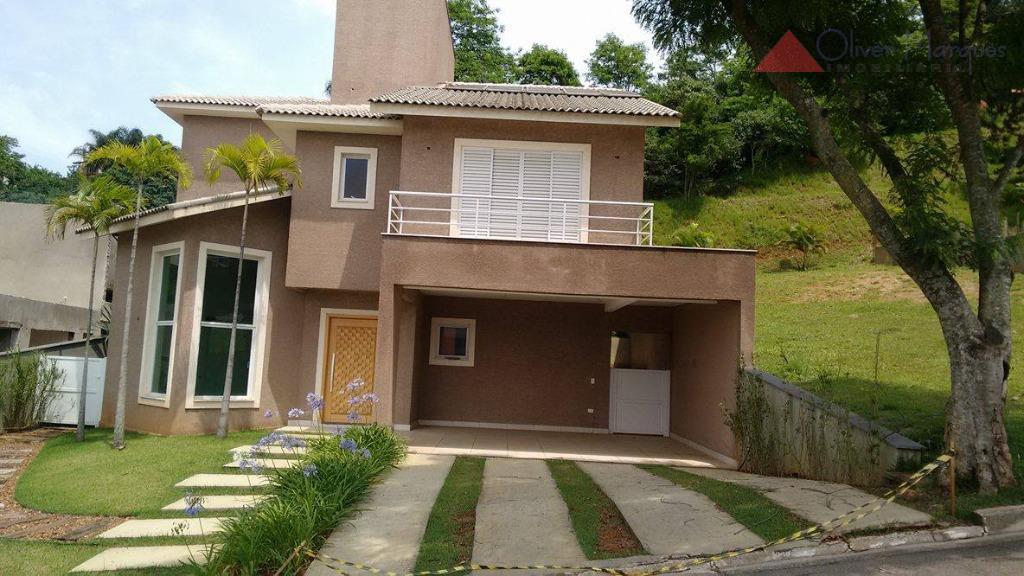 Casa residencial à venda, Tamboré, Santana de Parnaíba - CA0833.