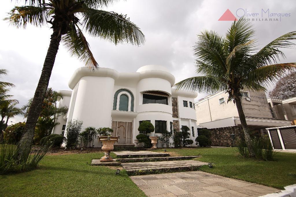 Casa residencial à venda, Alphaville Residencial Dois, Barueri - CA0841.