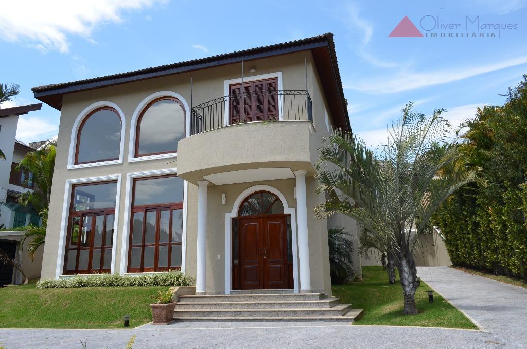 Casa residencial à venda, Residencial Três (Tamboré), Santana de Parnaíba - CA0851.