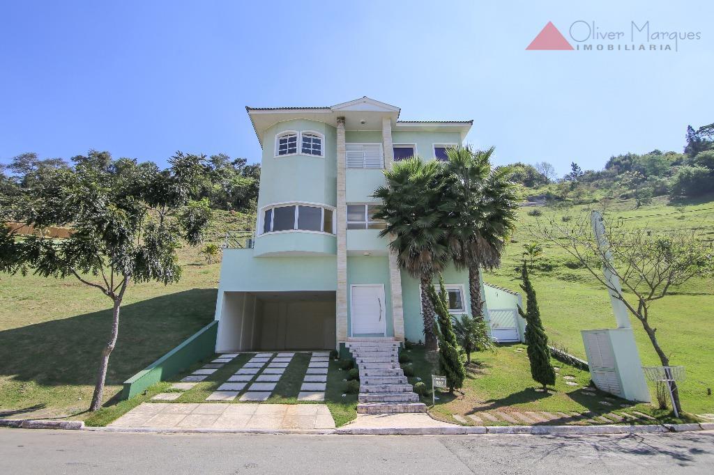 Casa residencial à venda, Tamboré, Santana de Parnaíba - CA0842.