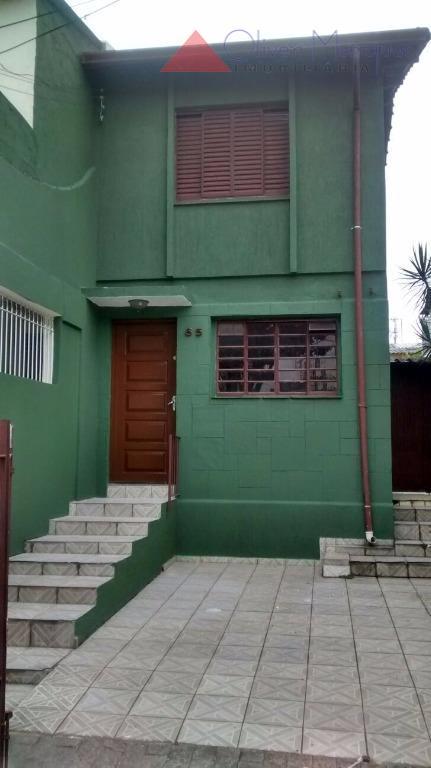 Sobrado residencial para locação, Jaguaré, São Paulo - SO1446.