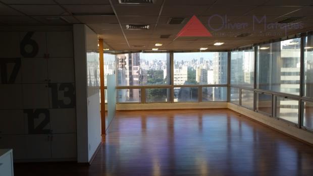 Sala comercial para locação, Jardim Paulistano, São Paulo - SA0149.