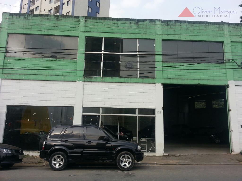 Galpão comercial para locação, Centro, Osasco - GA0138.