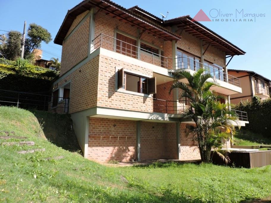 Sobrado residencial para locação, Granja Viana, Cotia - SO1483.