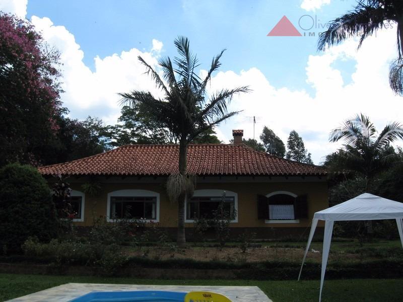 Chácara residencial à venda, Ganguera, São Roque - CH0091.