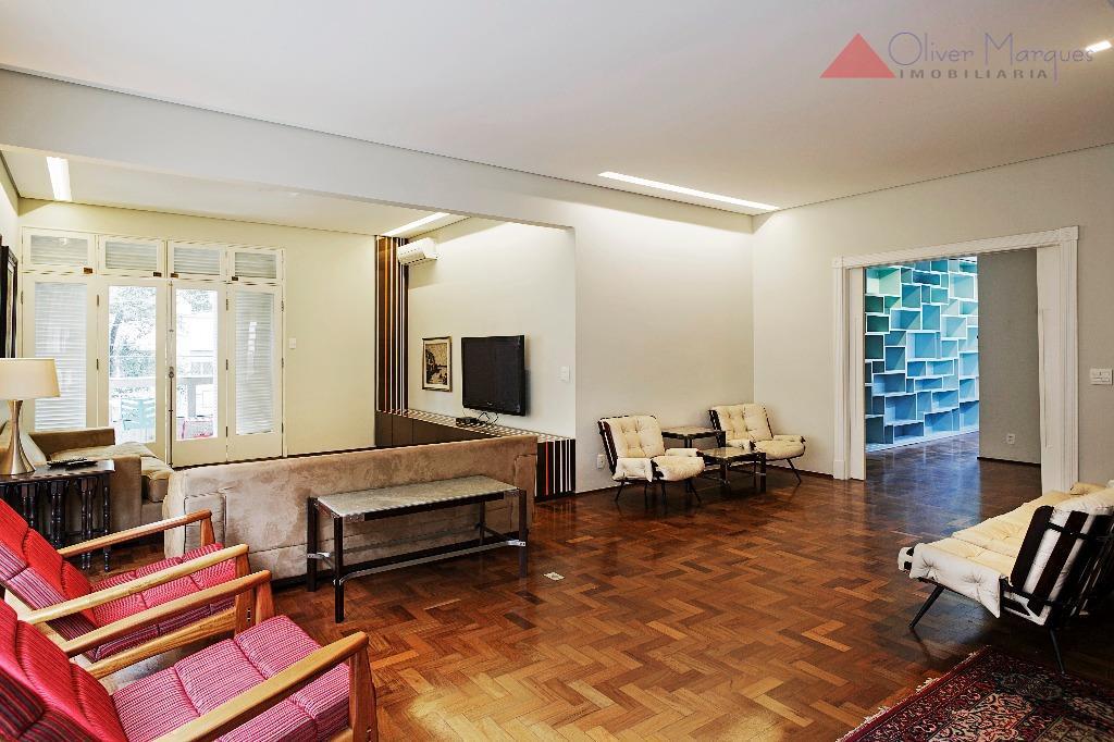 Apartamento residencial para locação, Higienópolis, São Paulo - AP4417.