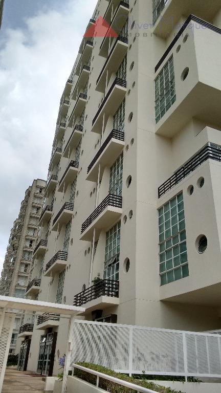 Apartamento residencial para locação, Alphaville Empresarial, Barueri - AP4452.