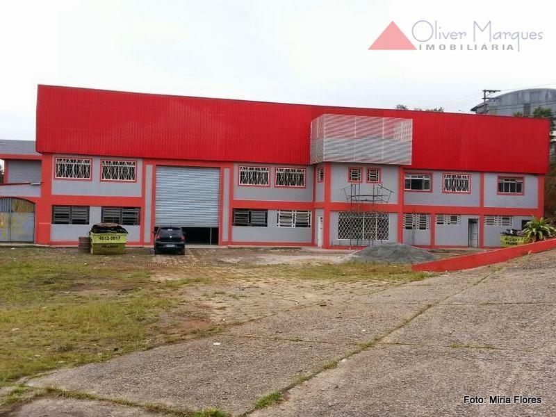Galpão industrial para locação, Parque Rincão, Cotia.