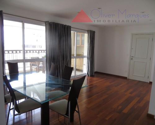 Apartamento residencial para locação, Paraíso do Morumbi, São Paulo - AP4512.