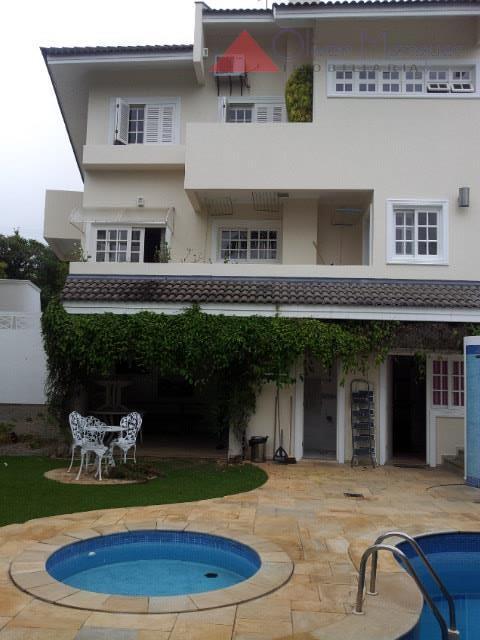 Sobrado residencial para locação, Residencial Dez (Alphaville), Santana de Parnaíba - SO1520.