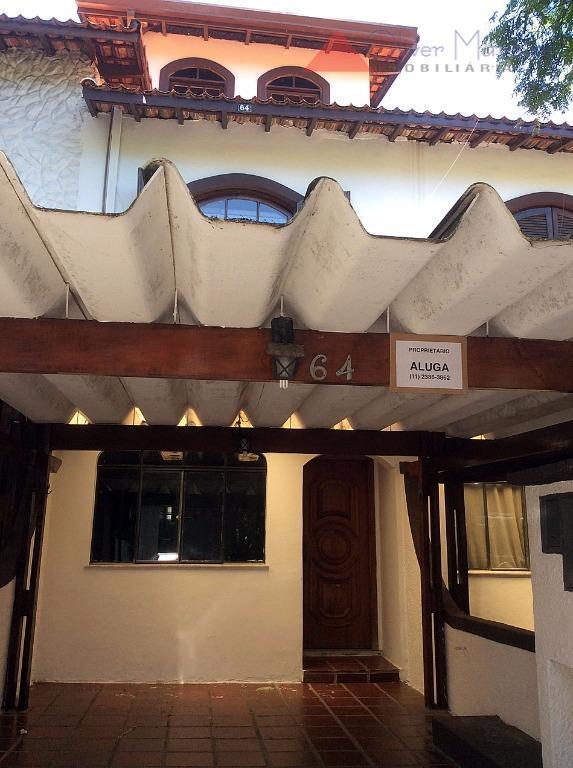 Casa residencial para locação, Jardim Jussara, São Paulo - CA0946.