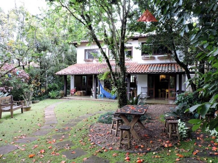Sobrado residencial para locação, Residencial Park, Cotia.