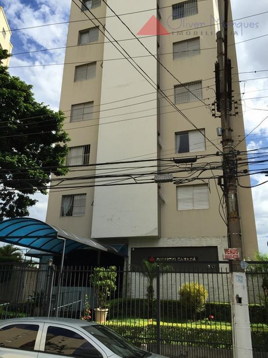 Apartamento  residencial para locação, Vila Osasco, Osasco.