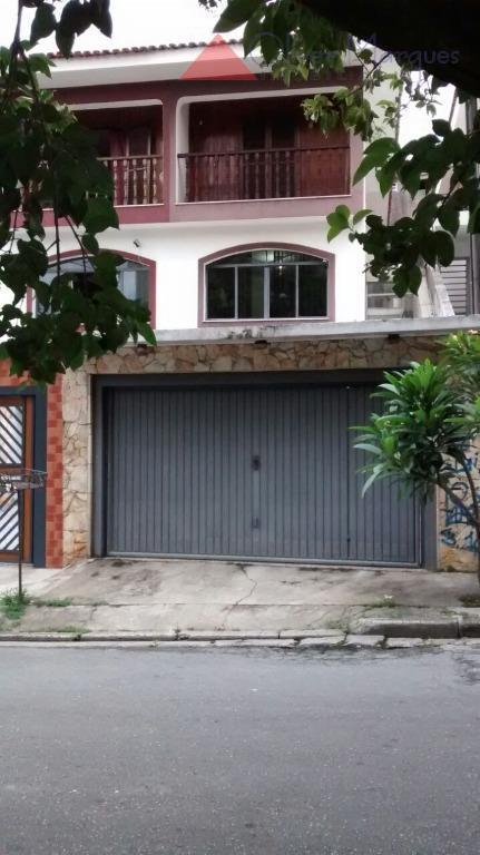 Sobrado residencial à venda, Jaguaré, São Paulo - SO1564.
