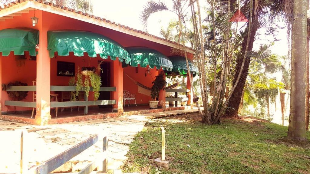 Casa residencial à venda, Chácara Represinha, Cotia - CA0981.