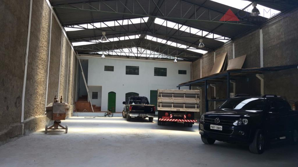 Galpão comercial para locação, Rochdale, Osasco - GA0158.