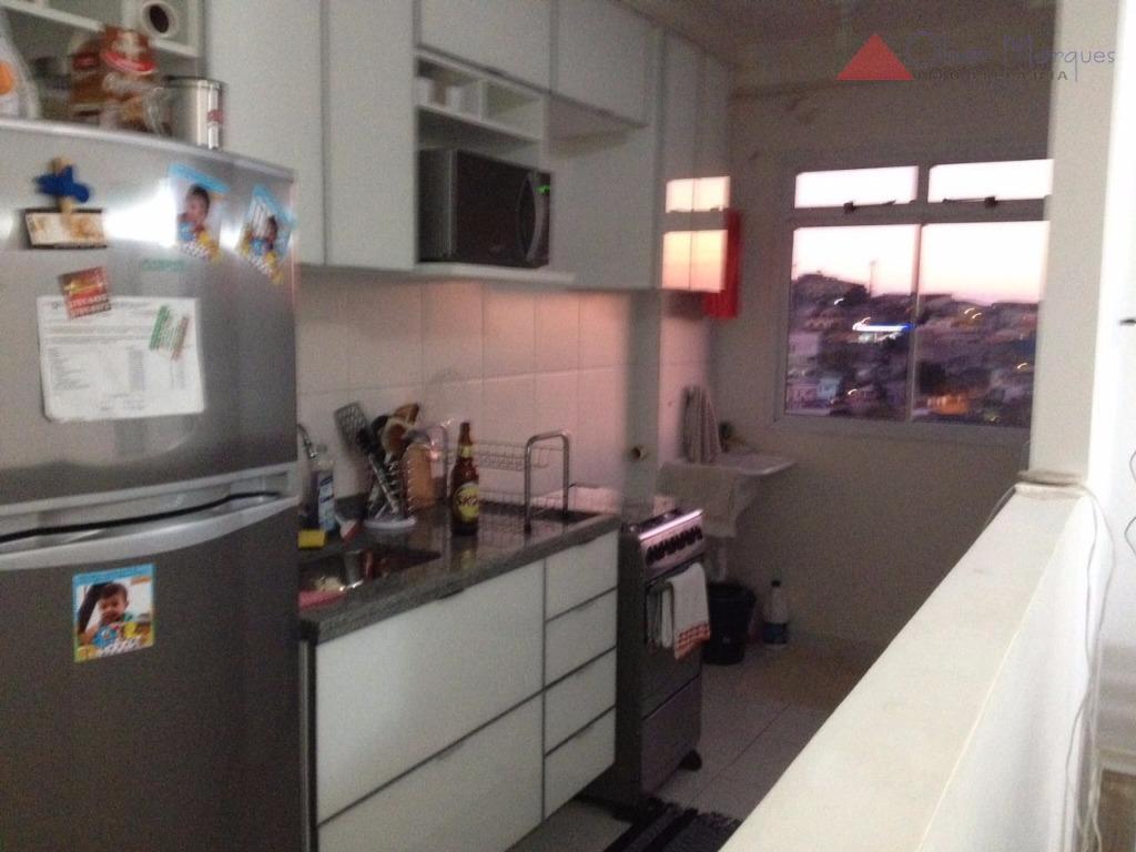 Apartamento residencial à venda, Bussocaba, Osasco.