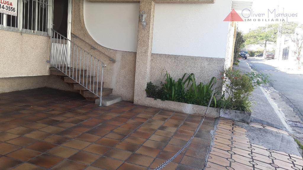 Casa residencial para locação, Parque Continental, São Paulo - CA1013.