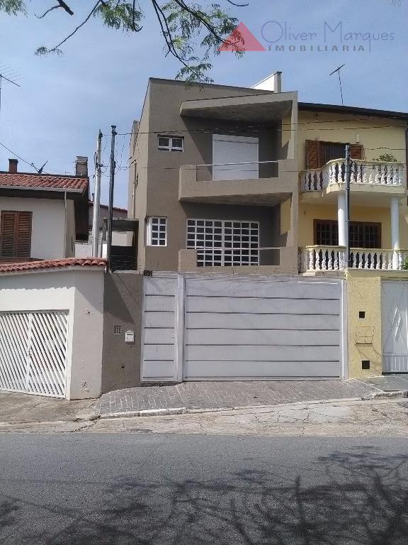 Sobrado residencial à venda, Parque Continental, São Paulo - SO0872.