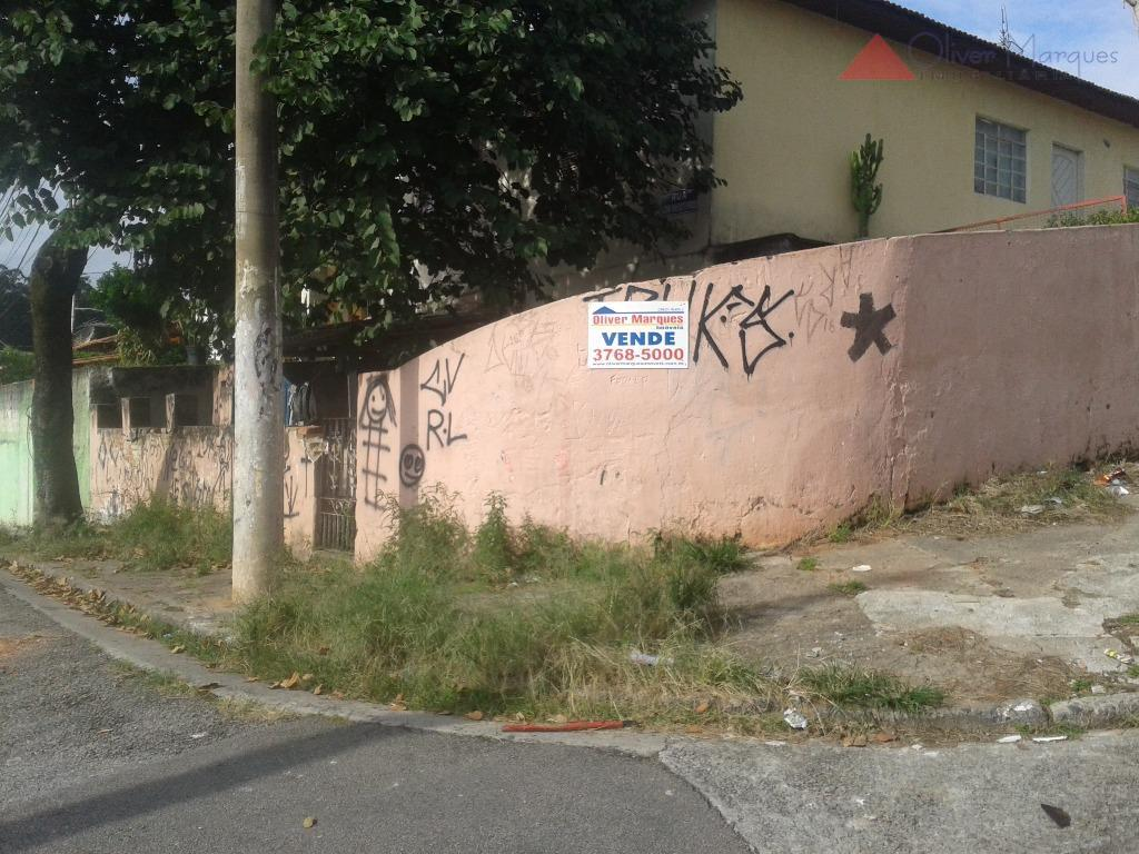 Terreno residencial à venda, Jardim D Abril, Osasco - TE0235.