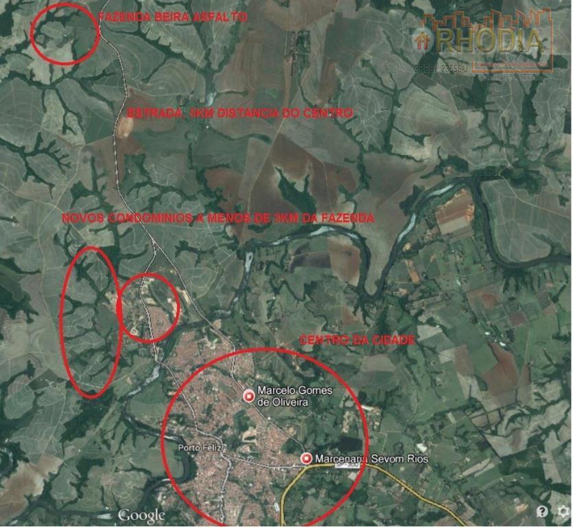 Área 64 alqueires para Parceria total - Porto Feliz